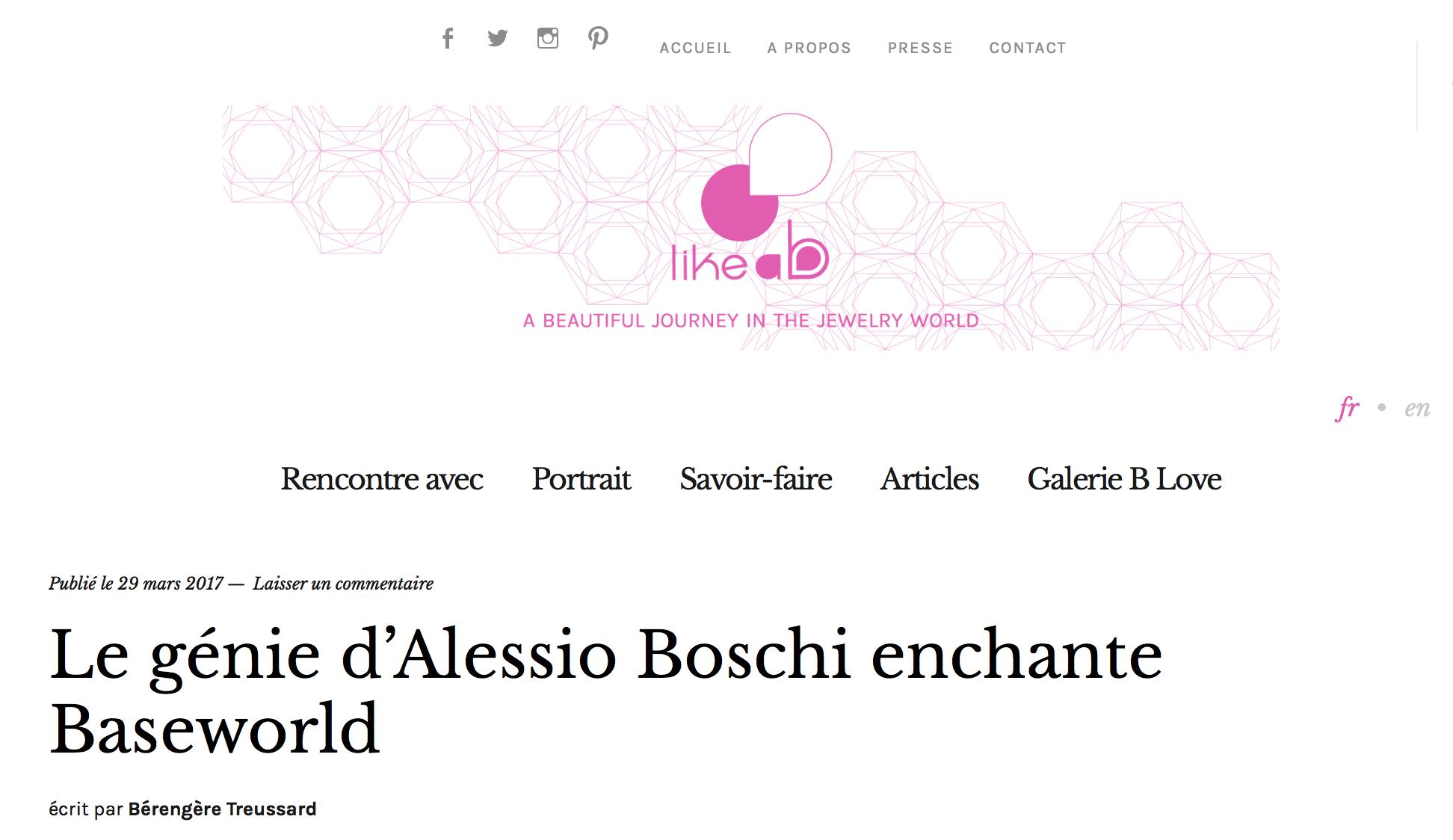 Le génie d'Alessio Boschi enchante Baselworld